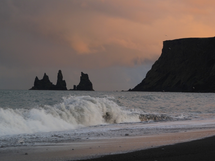 Iceland Vik Black Beach