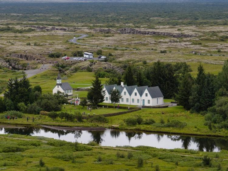 Nationalpark Thingvellir Iceland