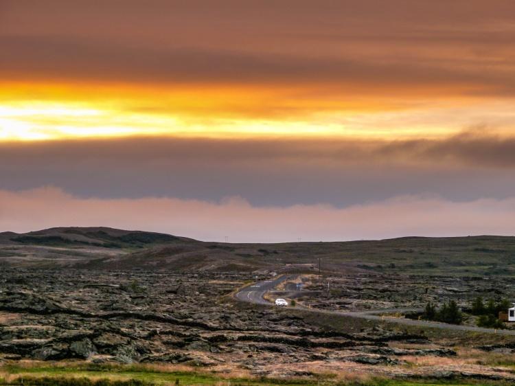 Myvatn Sunset Iceland