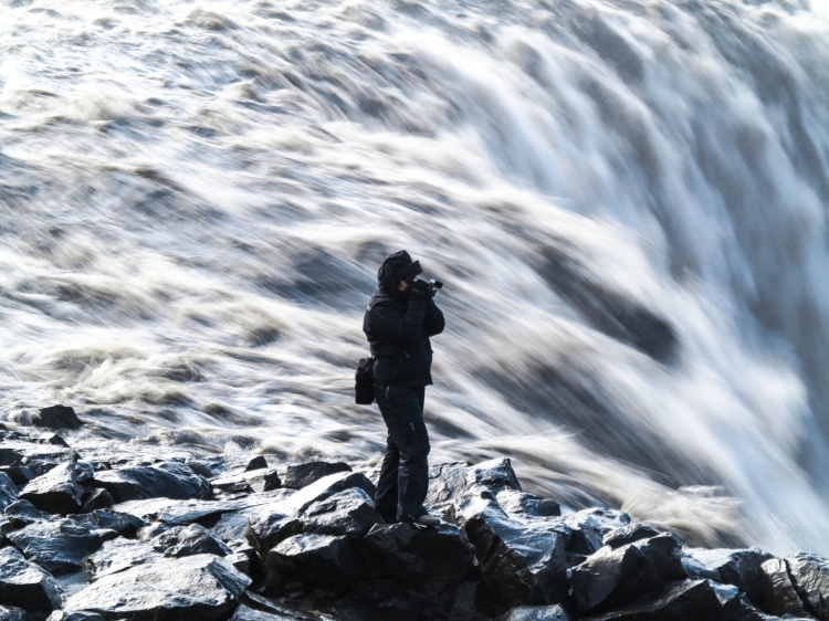 Dettifoss Iceland Kamera
