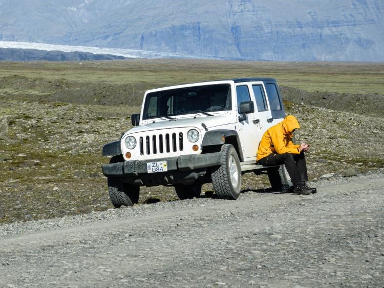 Jeep Wrangler Iceland