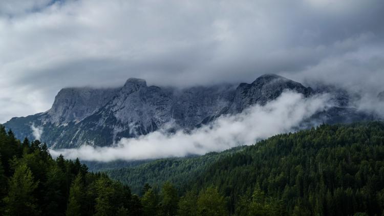 Wetterstein Gebirge Deutschland Bayern