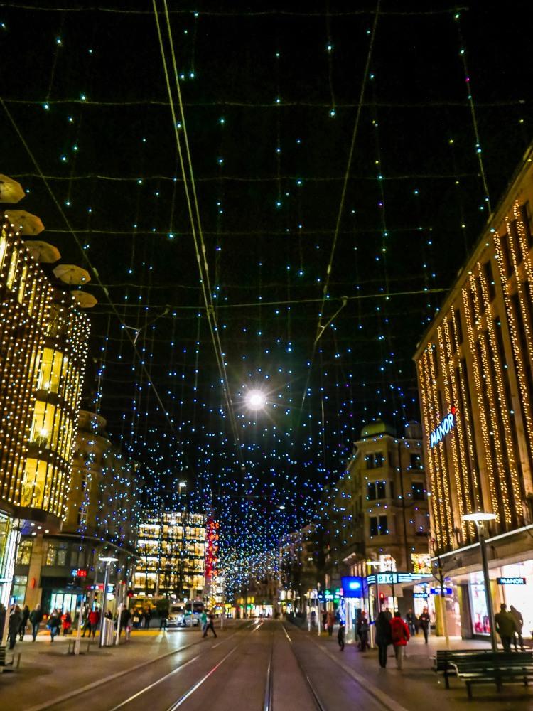 Zürich Christmas Lucy Weihnachtsbeleuchtung