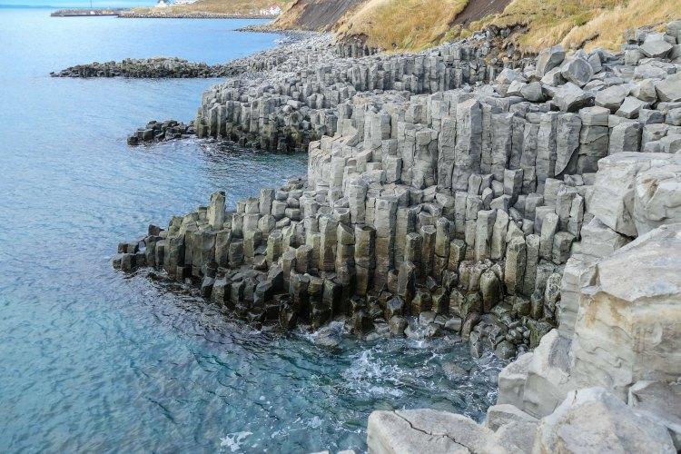 Basalt-Klippen von Hosfos Iceland Giants Causway-8
