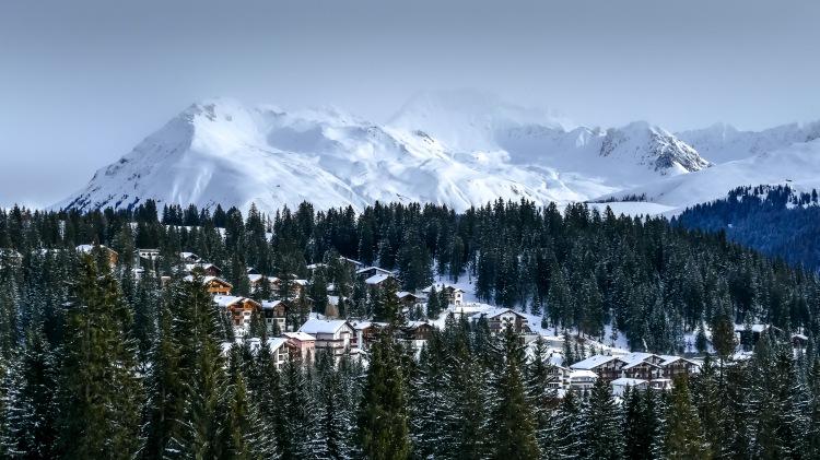 Berge Mountains Arosa Switzerland Alpen (2)