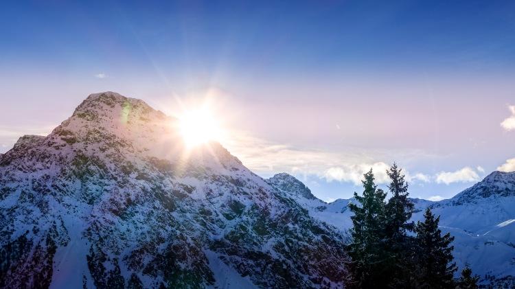 Berge Mountains Arosa Switzerland Alpen (21)