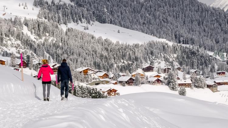nach dem grossen Schneefall Arosa-1100126