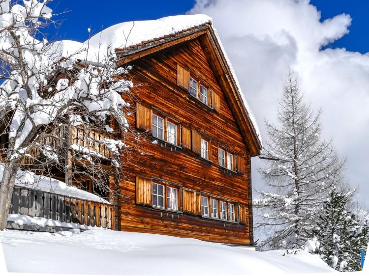 nach dem grossen Schneefall Arosa-1100221