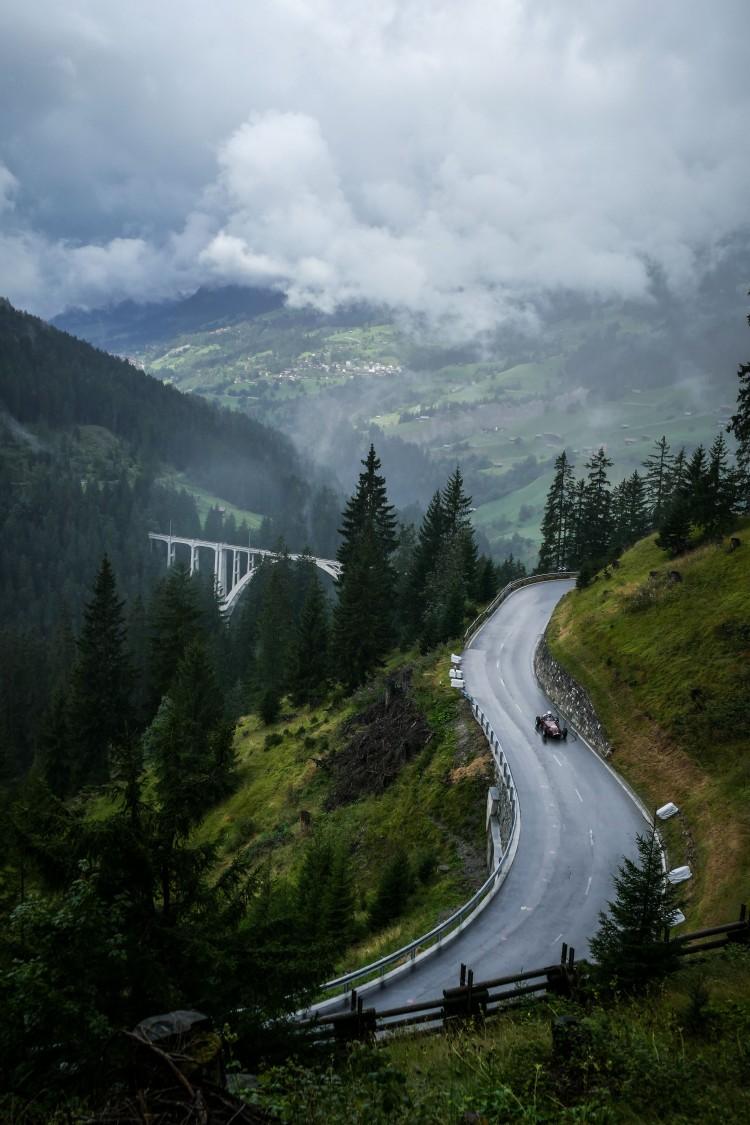 Arosa Classic Car Bergrennen Monaco der Berge Graubünden Schweiz Switzerland Porsche
