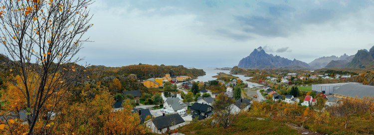 Im September ist auf den Lofoten bereits später Herbst