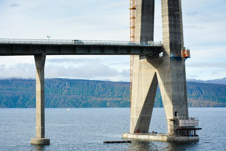 Hålogaland Bridge Narvik Norway