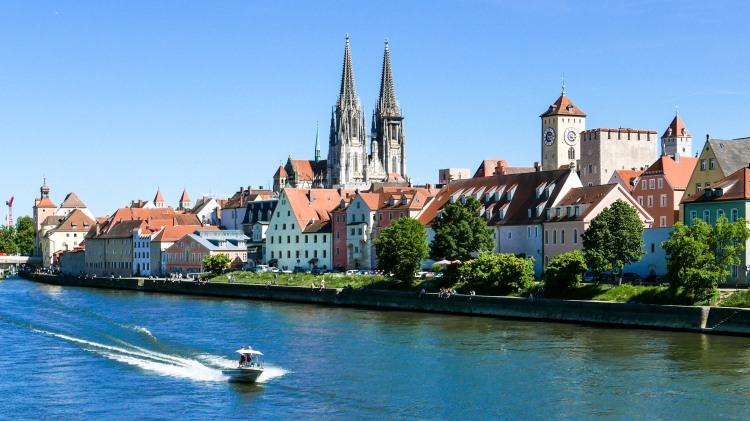 Regensburg Bayern Deutschland