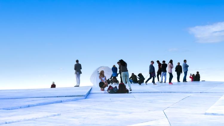 Oslo Norwegen Opera