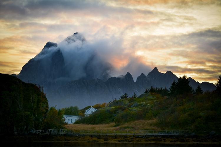 Vågakallen Lofoten Norway