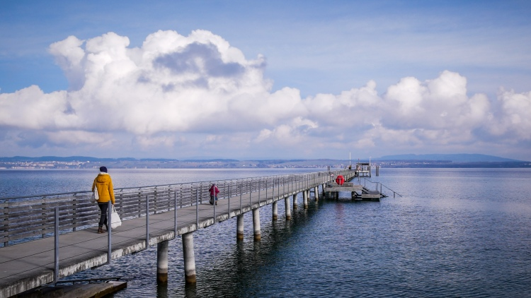 Pier Lake Constance Bodensee Anlegestelle