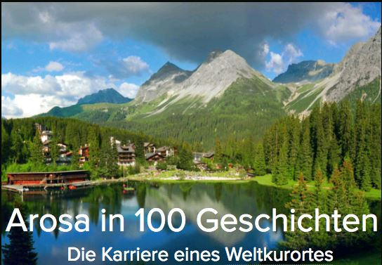 Buch «Arosa in 100 Geschichten».